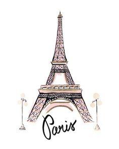 """If the Tour Eiffel is the symbol of Paris, the Cathédrale de Notre-Dame de Paris is its heart. Sitting on the banks of the Seine, this splendid architectural work of art is a definite """"must-see"""". Eiffel Tower Drawing, Eiffel Tower Art, Paris Kunst, Paris Art, Paris Decor, Paris Wallpaper, Black And White Aesthetic, Foil Art, Travel Illustration"""
