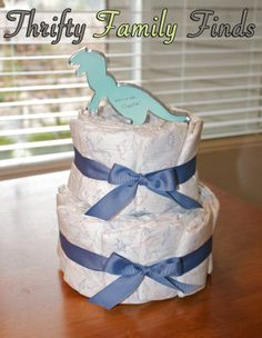 Thrifty Family Finds' Diaper Cake Tutorial + Win An $80 Honest Company Gift Card!