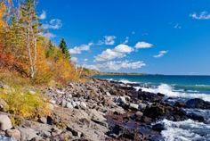 UP of Michigan-Lake Superior-This beautiful lake looked like the ocean...unreal!