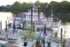 8. Taking a scenic dinner cruise on the Alabama River.
