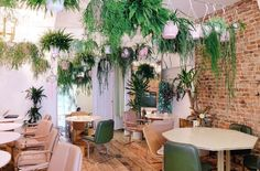 Palm Vaults in Hackney is up there with Sketch and The Breakfast Club as one of the most photogenic places to eat in London. Image via qnola.co.uk