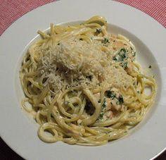 Prostmahlzeit: Spaghetti mit Räucherlachs