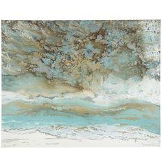 Coastal Air Abstract Art | Pier 1 Imports
