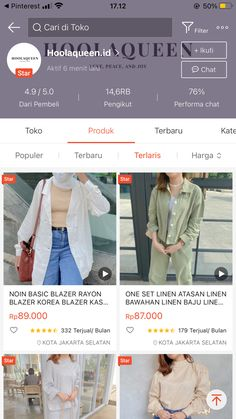 Casual Hijab Outfit, Casual Outfits, Fashion Outfits, Best Online Clothing Stores, Online Shopping Stores, Online Shop Baju, Hijab Fashion Inspiration, Daily Fashion, Casual Clothes