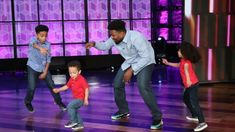 Ellen welcomed Emmanuel Hurd, whose video of him dancing with his three children to honor his wife's culture went viral with over 10 million views. The Hurds. Barber Shave, Great Haircuts, The Ellen Show, Man Weave, Queen News, Cover Songs, Funny Happy, Three Kids, Music Artists