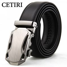 Men's Belt Genuine Leather Wide Belt Designer Automatic Wedding Belts Men High Quality Ceinture Homme Luxe Belts For Jeans Kemer //Price: $13.11 & FREE Shipping //     #hashtag2