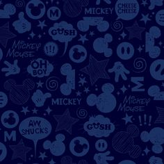 "Walt Disney Kids II Animated Tonal 33' x 20.5"" Wallpaper"