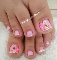 Image result for unhas do pé decoradas francesinha