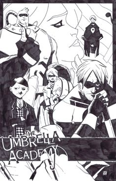 Umbrella Academy commission by ryancody.deviantart.com on @DeviantArt