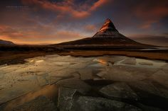 The Red Keep by Christian Lim            Mind the GoT reference... Arrived in the location with a great chance for sunset colors but the foreground was a bit iffy. Did not want to go back to the foss as there was too many people for our taste.Hence, got the boots out of the van and proceeded to crack about 40sq meters of a frozen ice pond to create these triangles on the ground. Afterwards we were approached by two guys who passed this area and they showed me the shirt that they printed of…