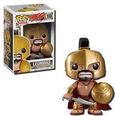 POP! Movie 300 King Leonidas 3.75-Inch Vinyl Toy Figure #16 - Funko Toys