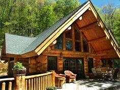 Cabin in the North Carolina Mountains.  Located between West Jefferson and Boone