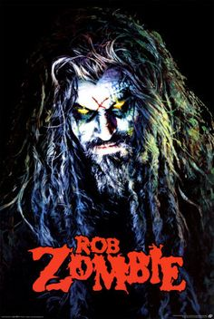 """Rob Zombie ~ I know he is weird, but there is nothing better to get your blood pumping than a little """"More Human Than Human""""!!!"""