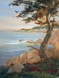 $725 · #california #californiaart #beachart #oceanart #pleinair #impressionist #coastline #sunsetart #skyscapeart Impressionism Art, Impressionist, Original Art, Original Paintings, Sunset Art, California Art, Landscape Artwork, Ocean Art, Beach Art