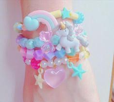 kawaii decora bracelets!