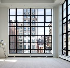 Gorgeous New York loft and view.