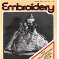 Vintage 1981 Embroidery magazine from The Embroiderers Guild available at Vintage Visage