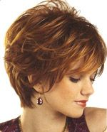 Beautiful Auburn Capless Wavy Synthetic Short Wigs are great style and high quality. Buy Short Wigs at our online store. Short Hair Styles For Round Faces, Short Hair Cuts For Women, Curly Hair Styles, Natural Hair Styles, Short Shag Hairstyles, Short Hairstyles For Women, Medium Hairstyles, Pixie Haircuts, Layered Hairstyle