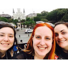 #neworleans #nola #louisiana #lovethiscity #thebigeasy #followyournola #vacation #vacations #vacationtime #relax #nofilter #historic #frenchquarter #504 #nolalove #nawlins #jacksonsquare #redhead #redhair #lovethem #squad #happy #friends #tourists #mygirls by lanolinden