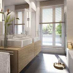 Tips to help you choose the perfect bathtub. Sunken Bathtub, Jacuzzi Bathtub, Bad Inspiration, Bathroom Inspiration, Square Bathtub, Garden Bathtub, Bathtub Remodel, Amazing Bathrooms, Modern Bathrooms