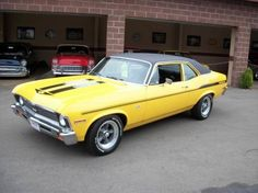 1972 Chevrolet Nova--ours was burnt orange and black Custom Muscle Cars, Chevy Muscle Cars, My Dream Car, Dream Cars, Chevy Vehicles, Car Goals, Chevy Nova, Power Cars, Old Cars