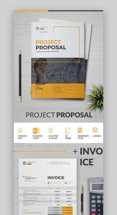 20 Best Proposal Templates 2019 Project Proposal Template, Business Proposal Template, Proposal Templates, Graphic Design Brochure, Corporate Brochure Design, Business Brochure, Marketing Proposal, Sales Proposal, Company Profile Design
