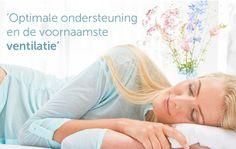 Optimale ondersteuning en de voornaamste ventilatie | Upgrade jouw bed met een AEROMAX topper | SwissSense.nl