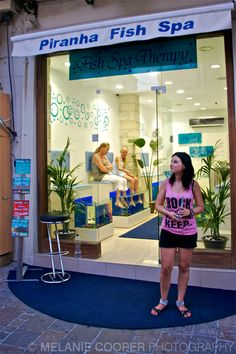 Would you go here?! (Fish Spa in Rethymno, Crete) http://melaniecooperphotography.blogspot.co.uk/