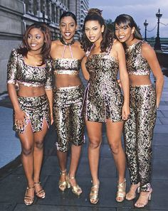 "The group hit the R scene in the late '90s with songs like ""Say My Name"" and ""No, No, No."" With its original members including Beyonce Knowles and Kelly Rowland, the group saw a number of changes in its line-up over the years and ended as a trio with Michelle Williams. Though they have not officially broken up, the three remaining members have not recorded together since 2005's #1's album"