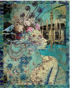 """Baroque romantic"" by esteladesign on Polyvore"