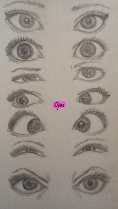 Easy Pencil Drawings, Pencil Sketch Drawing, Art Drawings Sketches Simple, Cool Drawings, Sketch Art, Drawing Base, Drawing Step, Disney Drawings, Realistic Eye Drawing