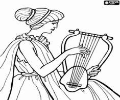 Juegos de Antigua Grecia para colorear, imprimir y pintar