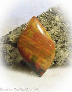 Fancy Blood Stone Free Form Hand Cut Stone Rock by superioragates, $13.00