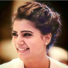 Samantha Images, Samantha Ruth, South Actress, South Indian Actress, Hair Pictures, Fashion Pictures, Easy Hairstyles, Wedding Hairstyles, Front Hair Styles