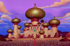 Located right in the center of Agrabah near the Jordan River, the Sultan's Palace is visible no matter where you are in town.