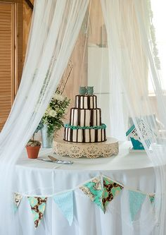 Owl themed vintage wedding by MyOwlBarn, via Flickr