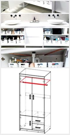 So Organisieren Sie Ihren Badezimmerschrank Badezimmerschrank Ihren Organis In 2020 Schrank Zimmer Schliessfacher Schrank