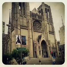 Grace Cathedral, San Francisco  #NobHill #SF