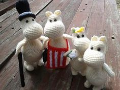 Ravelry: Project Gallery for Amigurumi Moomin pattern by Samantha Evans