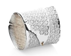 Matthieu Cheminée Bracelet: Untitled Sterling silver, 14kt gold, champagne diamond