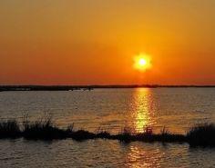 Louisiana Sunset (Pointe-aux-Chenes)  by SalemCat.deviantart.com