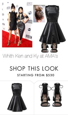 """With Kendall and Kylie at the AMA's"" by love-little-mix ❤ liked on Polyvore featuring Zimmermann"