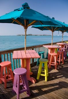 Places I've been many times and never get sick of: Sunset Pier, Key West, Florida Keys