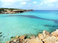 Cala Saona, Formentera, España