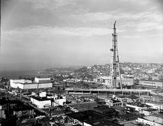 Space Needle under construction Seattle Washington 1961 [2400  1852]