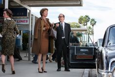 """Completing Thompson's look are a sizable alligator purse (that Thompson referred to as her character's """"shield"""") and leather gloves, which were on their way out in the 1960s but a trend that Orlandi figured Travers would have held onto."""