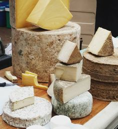 #Cheese glorious cheese at the #GreenParkStation #FarmersMarket in #Bath #Sommerset #England #UK #GreatBritain #VisitBath #cheesemonger