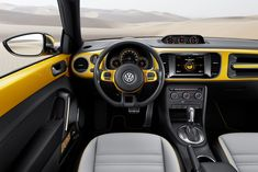 Volkswagen Beetle Dune Concept Interior - Car Body Design