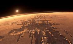 Noctis Labyrinthus o el laberinto de la noche, otro de los grandes misterios de Marte