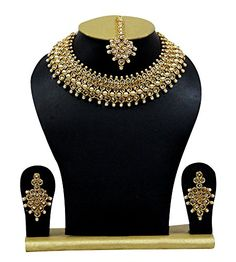 Indian Bollywood Necklace Set Traditional Bridal Wedding ... https://www.amazon.com/dp/B07B6PVRRX/ref=cm_sw_r_pi_dp_U_x_jJDSAbDB3HAN1